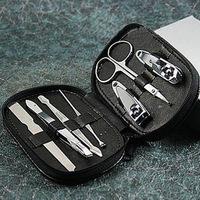 CHEER! 100PCS/LOT Fedex Free Shipping Hot-selling nail clipper set nail art tool bag finger scissors set nail art set/kit