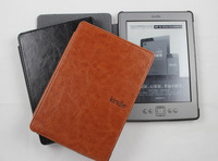 For Amazon ebook protective case ,PU Leather pouch case for Amazon kindle 4 4th,retail and wholesale,free shipping