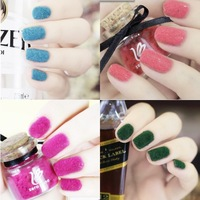 Zero nana velvet nail polish oil velvet wool nail art full 36 limited
