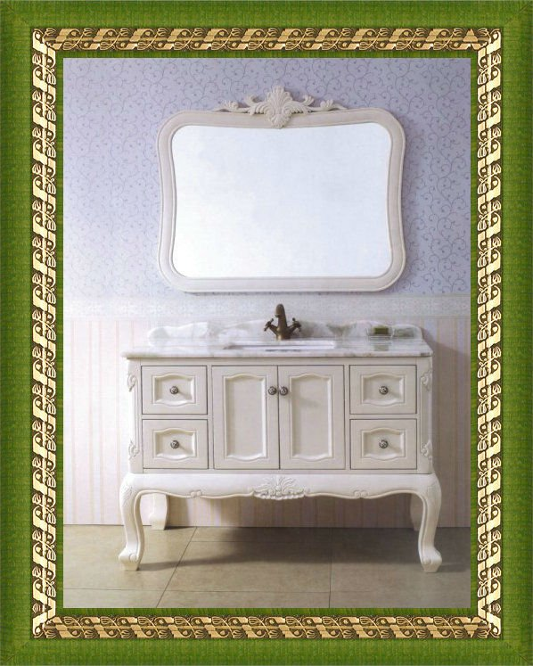 solid wood bathroom vanity cabinet 0281(China (Mainland))