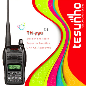 TESUNHO TH-790 TWO WAY RADIO CE APPROVED WALKIE TALKIE HAM TRANSCEIVER