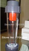 Freeshipping water flow meter liquid flow meter/ rotameter 2pcs/lot LZS-65