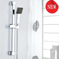 2014 >400mm tap bath mixer chuveiro good quality slide bar set include handshower chrome kitchen &bath store free shipping