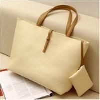 Free Shipping  2013 Fashion Ladies Retro Handbag / PU Design Totes Bag