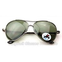 100% polarized Lense Aviator sunglasses For Children kis Metal Rim Frame mirror coating glasses 1pcs Free Shipping