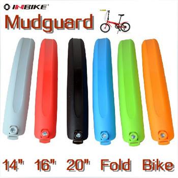 "Free Shipping Universal Quick Release Folding Bike Bicycle Mudguard Fenders 14"" 16"" 20"" Wheel Universal Bike Mudguard"