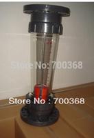 Freeshipping liquid flow meter/rotameter, water flow meter /flowmeter 1pcs/lot LZS-100