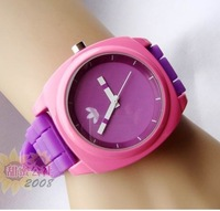 Multicolor vintage fashion sports table watch fashion table ladies watch large