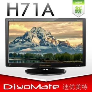 H71a 27 led lcd hd monitor ips screen hard
