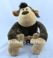 "monkey   19.6"" 1pcs/lot lion   Stuffed Animal Plush toy  NICI wholesale  free shipping of The jungle brothers"