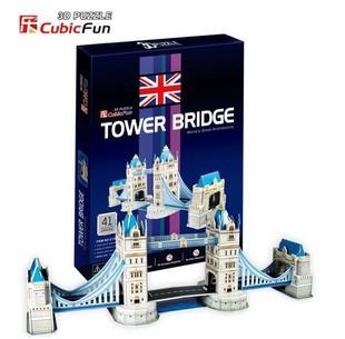 3D головоломки игрушки cubicfun бумаги модель
