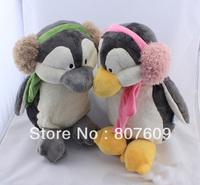 Nici antarctic penguins doll lovers penguin headset ear package penguin toy plush doll pillow gift 30cm