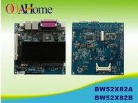 OO Ahome ITX BW52X82B Intel Atom D525 1.8G dual core,Fanless,VGA+18Bit LVDS,12V DC,8COM,2Giga LAN,Mini ITX Motherboard,Mini PCs