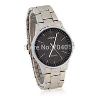 SINOBI Men's Water Resistant Analog Watch with Stainless Steel Strap