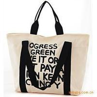 Hot casual canvas fabric bag! beach shoulder bag! shopping handbag!  leisure letters handbag!