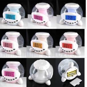 Dream natural music ball alarm clock color mood alarm clock limited edition (free shipping)(China (Mainland))