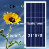 Feel shipping A grade 140W POLY Solar modules 36 cells with 18V output voltage charging for 12V battery in stock