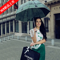 Fashion three fold umbrella windproof umbrella 2013 princess umbrella - -