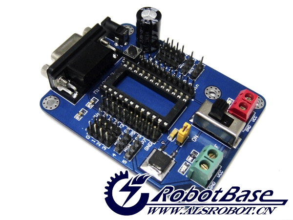 Mini-bs2 board microcontroller basic stamp 2 plate bearing robot controller(China (Mainland))