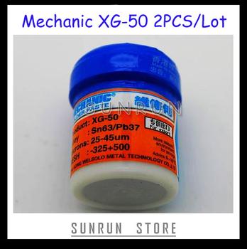 2014 New Arrival 2PCS/Lot MECHANIC Solder Flux Paste Soldering Tin Cream Sn63/Pb37 XG-50, New Packing from MECHANIC MCN-300