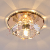 Free Shipping Living room lights led aisle lights lamps bedroom lamp ceiling crystal lamp 0001