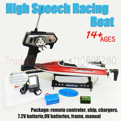 Free shipping Double Horse DH 7009 high speed racing boat toy RC ship / boat by 370 type racing motor from origin factory(China (Mainland))