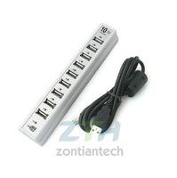 Free shipping 10-Port High-Speed USB 2.0 usb hub
