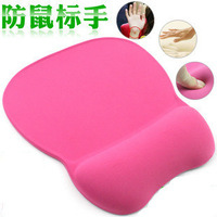 Freeshipping hot Memory foam wrist support mouse pad hand mouse pad memory foam wrist support mouse pad