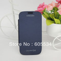 Back cover flip leather case battery housing case for Samsung Galaxy S3 i9300 free shipping welcome wholesales 10pcs/lot