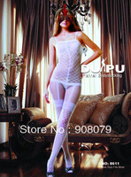 White Sexy Lingerie Fishnet Body Stockings For women , Free Shipping!