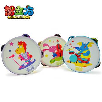 Tambourine darnings percusses child darnings hand drum oversized handbell 2