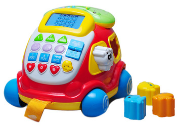 Obbe electronic car phone 463429 toddler toys multifunctional car phone toy 1