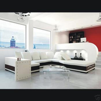 modern furniture sofa set genuine leather sectional  home furniture  living room sofa set