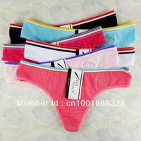 women cotton lace many color size sexy underwear/ladies panties/lingerie/bikini underwear pants/ thong/g-string 7167-4pcs
