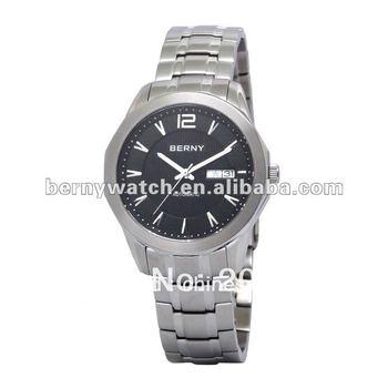 Men's automatic mechanical wrist watch, stainless steel watch, free shipping watch, waterproof watch,AM004M-A
