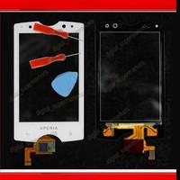 Digitizer Touch Screen For Sony Ericsson Xperia Mini Pro SK17i white free shipping