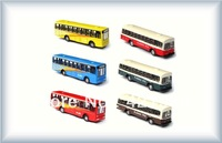 50pcs model car bus 1:50  for architectural model materials  and best gifts