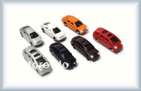 10pcs -1:100  light car  for architectural model materials best gifts