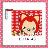 Free Shipping A-li red coin purses 100pcs/lot coin bag