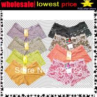 women cotton lace many color size sexy underwear/ladies panties/lingerie/bikini underwear pants/ thong/g-string 6012-24pcs