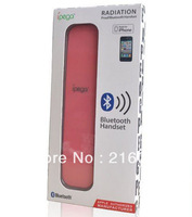 10 x Bluetooth Wireless Anti-Radiation Handheld Handset for iPhone 5,4S,4G,3GS Pink Telephone Cell Phone Headsets