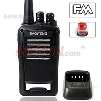 Baofeng Wireless Long Range Transceiver 5W Walkie with FM FM Radio Emergency Alarm