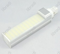 1pcs G23 10W 44 SMD 5050 700Lumen White/Warm White LED Light Lamp Tube Bulb 85-265V