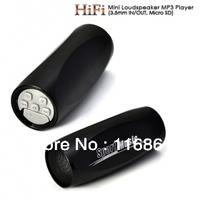 2PCS Free shipping Mini HiFi Loudspeaker MP3 Player(8 GB Micro SD card included)