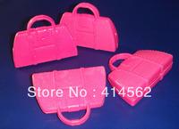 doll accessories, handbag, office bag, 100pcs/lot