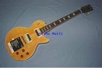 (free shipping)Custom Superme Slash Yellow Electric Guitar china factory store