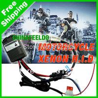 4in1 Universal H6M/H4/P15D25-3/S2(BA20D) 35W MOTORCYCLE Bi-Xenon Slim Hi/Lo Beam HID KITS