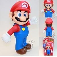 Super Mario Super Mario Doll Favorite toy doll genuine 9 inch boxed Mario 23CM retail selling