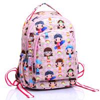 Vivisecret child cartoon primary school students backpack child school bag small 8016