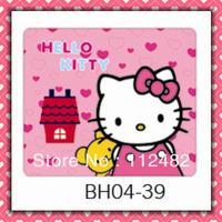 Free Shipping hello kitty bear  laptop mouse pad 10pcs/lot coumputer mouse mat